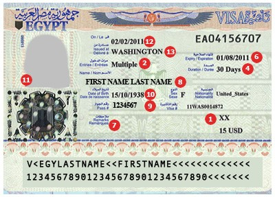 Image Result For Egyptian Travel Visa Requirements