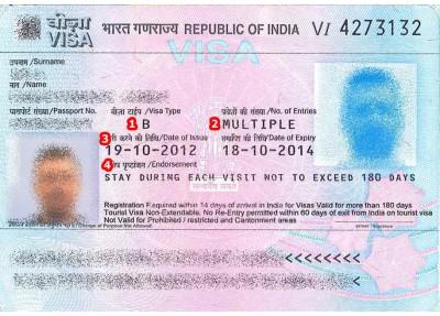 View Samples of Travel Visas | VisaCentral UK